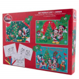 Puzzle 3 in 1 - Mickey, 172 piese, Disney