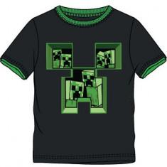 Tricou Minecraft ORIGINAL Creeper Inside 5-12 ani + Bratara CADOU !!