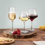Set 18 pahare vin alb vin rosu sampanie Pasabahce Risus