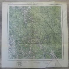Palanca si Csik-Szt-Domokos// harta Serviciul Geografic Armatei 1916
