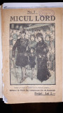 Micul lord - Frances Hodgson Burnett - roman in fascicole