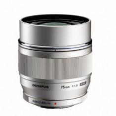 Obiectiv Olympus M.ZUIKO DIGITAL ED (Alb) 75mm