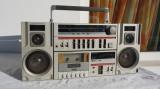Radiocasetofon boombox vintage Supertech MC-121K stereo, Micro-sistem, 0-40 W