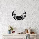 Decoratiune pentru perete, Ocean, metal 100 procente, 48 x 38 cm, 874OCN1002, Negru
