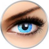 Fancy Blue Artist - lentile de contact colorate Crazy albastre anuale - 360 purtari (2 lentile/cutie)