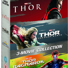 Filme Marvel Thor DVD BoxSet Complete Collection