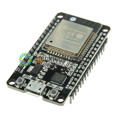 ESP-32 Wireless WiFi Bluetooth Board 2.4GHz Micro USB CP2102 Dual Core foto
