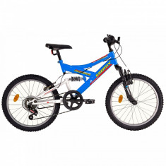 Bicicleta Copii Kreativ 2041 Albastru Inchis 20