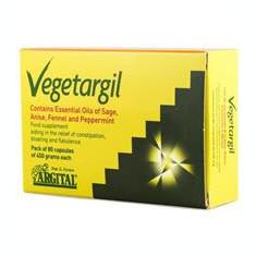 Supliment Alimentar cu Uleiuri Esentiale de Salvie Anason Fenicul si Menta 80cps Argital Cod: AG1218
