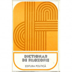 Dictionar de filozofie