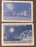 Cumpara ieftin Romania 1961, LP 520 ECLIPSA TOTALA DE SOARE  2v.MNH