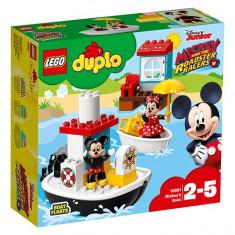 LEGO Duplo - Barca lui Mickey 10881