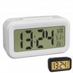 Termometru si ceas cu senzor de lumina TFA