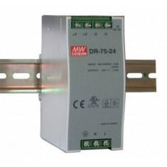 SURSA DR- 75-24 24V/3.2A SINA DIN