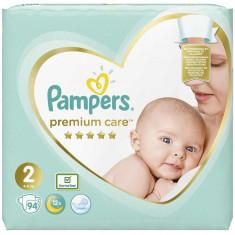 Scutece Pampers Premium Care 2 Jumbo Pack, 94 bucati