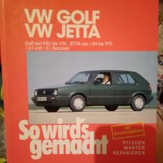 Volkswagen Golf/Jetta, carte tehnica