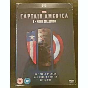 Filme Marvel Captain America DVD BoxSet Complete Collection