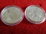 [ARGINT] - Monede 20 € - Ag 925 ‰ - 18 g - 2010 & 2011, Europa
