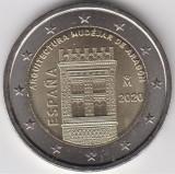 SPANIA moneda de 2 euro comemorativa 2020 - Aragon, UNC, Europa, Cupru-Nichel