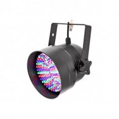Proiector LED Showtec LED Par 56 Short Pro RGB, negru