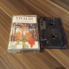 CASETA AUDIO VIVALDI-THE FOUR SEASONS ORIGINALA