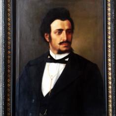 Doua portrete vechi Misu Popp  din ani 1860-1880