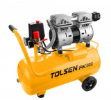 Cumpara ieftin Compresor fara ulei Tolsen Force Xpress, vas 24 l, 800W, 7 Bar, 1 racord