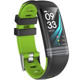Bratara Fitness iUni G26, Display OLED 0.96 inch, Bluetooth, Pedometru, Notificari, Verde