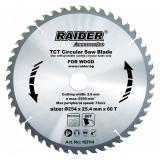 Cumpara ieftin Disc circular Raider, 254 х 25.4 mm, 60 T