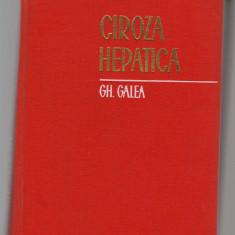 C8450 CIROZA HEPATICA DE GH. GALEA