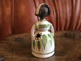 Vintage - Vaza deosebita tip figurina din ceramica Helsingborg / design Susi !