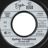 Sydney Youngblood - Sit And Wait (1989, Virgin) Disc vinil single 7""