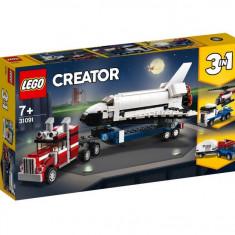 Set de constructie LEGO Creator Transportorul navetei spatiale