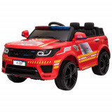 Masinuta Electrica SUV Police Red