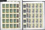 Vietnam 1987 Paintings, Picasso, 20 imperf. set in block, used T.383