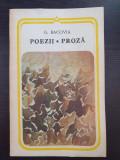 POEZII * PROZA - Bacovia
