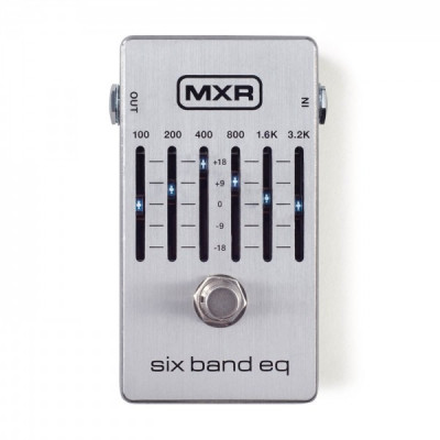 MXR M109S 6-Band Graphic Equalizer foto
