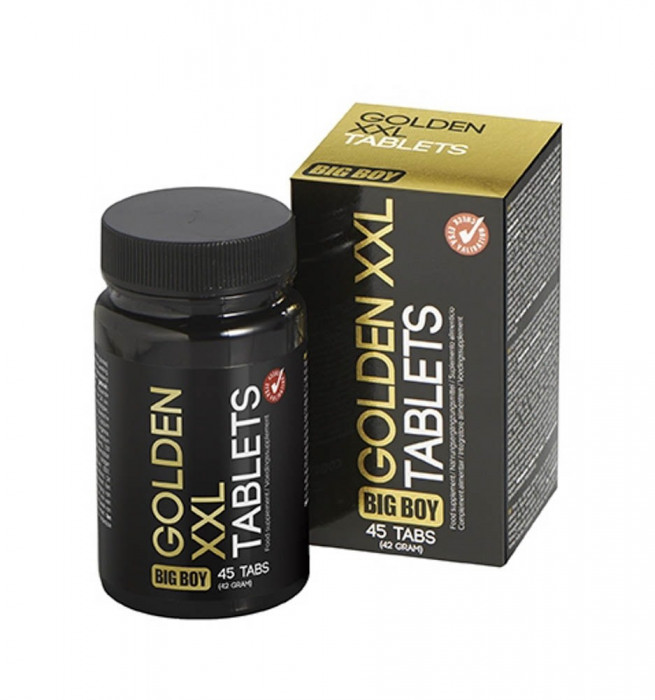 Tablete Pentru Potenta Golden XXL, 45 Buc