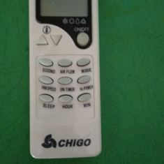 Telecomanda aer conditionat CHIGO, ORIGINALA, AC !!!