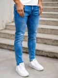 Blugi bleumarin bărbati skinny fit Bolf KX395