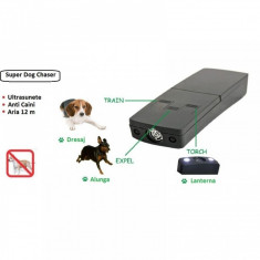 Dispozitiv impotriva cainilor portabil Super Dog Chaser