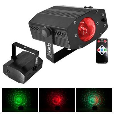Proiector LED 3 in 1 Waterwave, 3 W, efect stroboscop foto