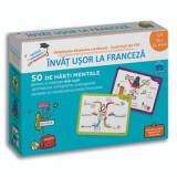 Invat usor la franceza -clasa a ii-a - 50 de harti mentale pentru a intelege mai usor gramatica, ortografia, conjugarea verbelor si vocabularul limbii