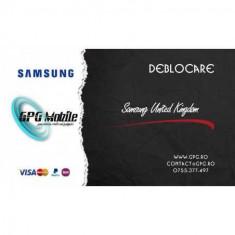 Deblocare Samsung United Kingdom