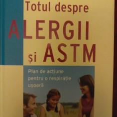 TOTUL DESPRE ALERGII SI ASTM - Plan de actiune pentru o respiratie usoara.