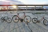 Lot 3 Biciclete Pegas vechi, romanesti. Pegas Ideal 3428, Pegas 5120