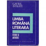 Limba romana literara - studii si articole