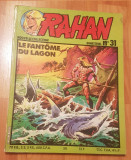 RAHAN Nr. 31, Nouvelle Collection. Le Fantome du Lagon. In franceza