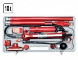 Pompa hidraulica cu accesorii, 10 tone Vorel 80412