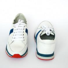 Pantofi sport bărbați piele naturală, adidasi piele